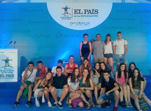 Ganadores en el concurso organizado por El País de los Estudiantes