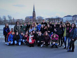 Alumnado de 3ºESO pasa cuatro días en la localidad alemana de Frankfurt.